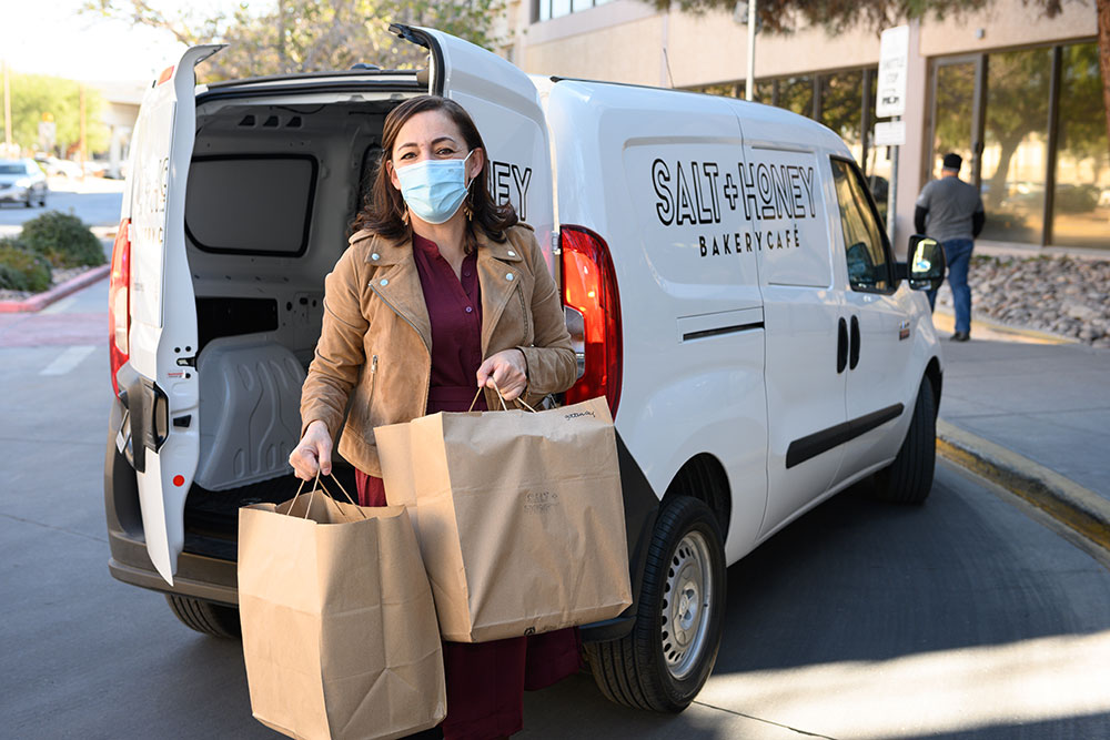 Salt + Honey Bakery Café Feeds Health Care Heroes During COVID-19 Pandemic