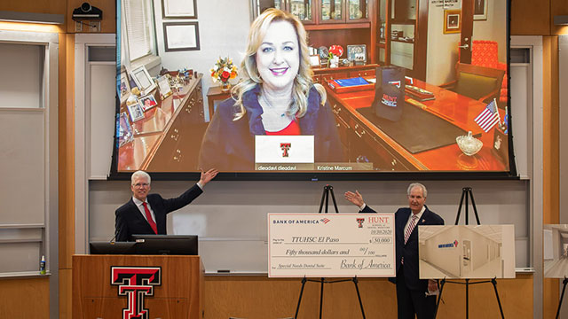 TTUHSC El Paso Receives Gift to Texas Tech Dental Oral Health Clinic from Bank of America