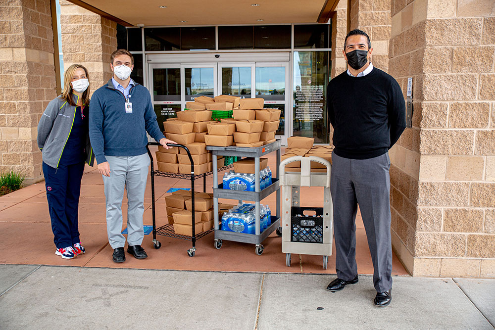 JPMorgan Chase provides $5,250 Donation to Feed Health Care Heroes During COVID-19 Pandemic