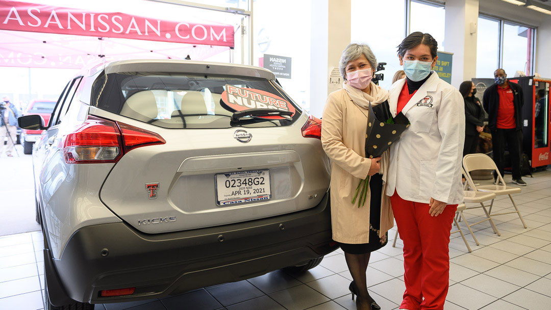Hunt School of Nursing Student Receives Complimentary One-Year Vehicle Lease