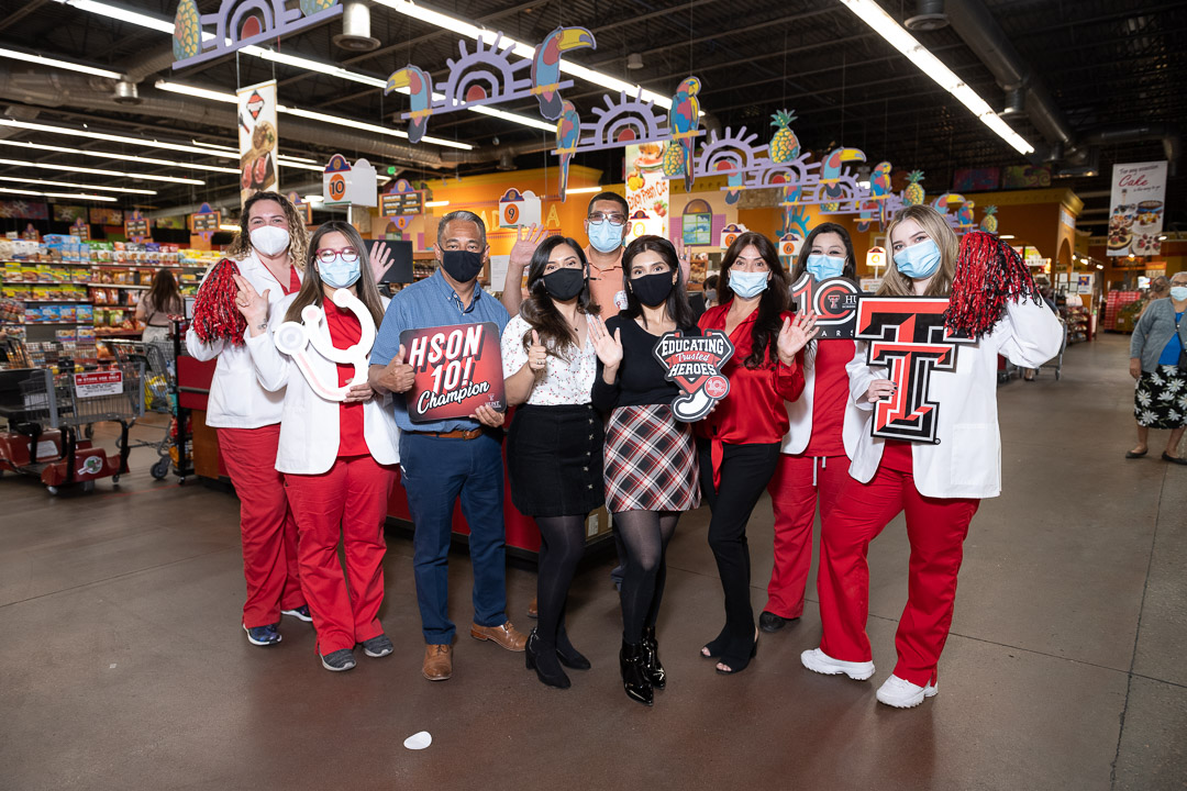 "TTUHSC El Paso and Vista Markets Announce ""Champions of Trusted Nursing Heroes"" Campaign for the Hunt School of Nursing"