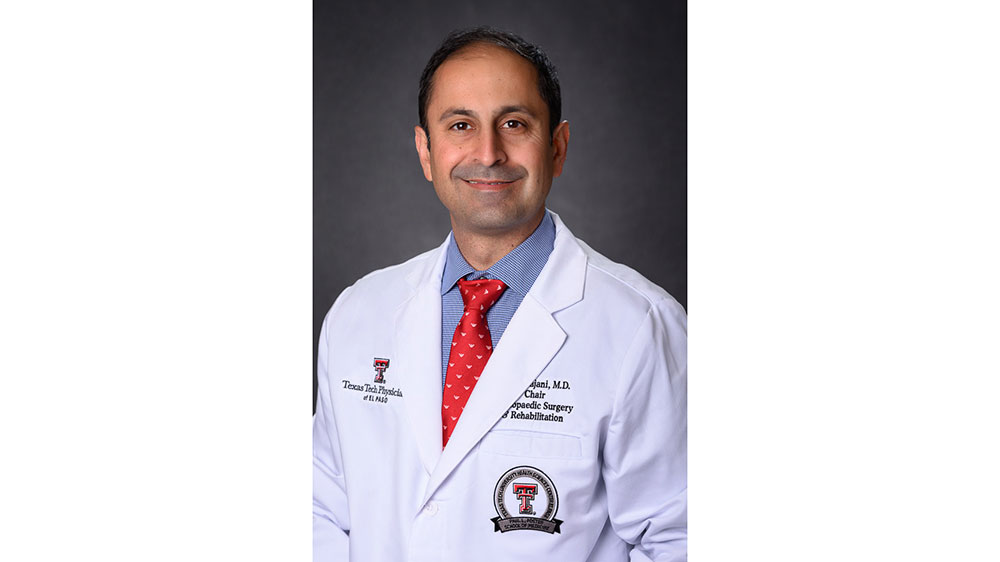 TTUHSC El Paso Welcomes New Chair of the Department of Orthopaedics