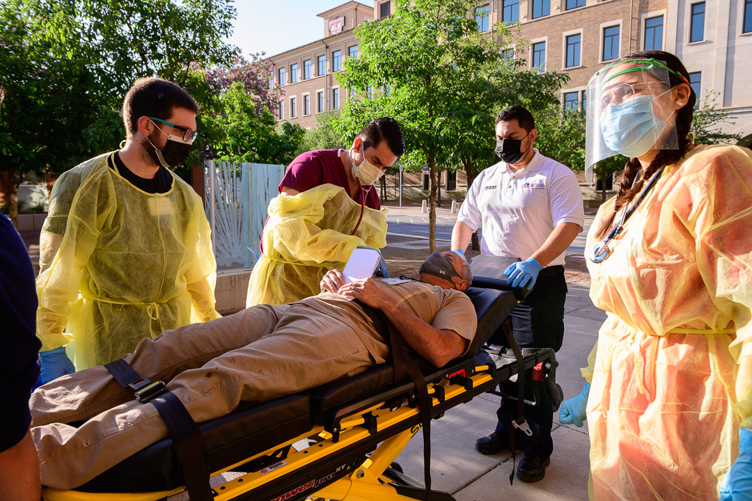 Emergency Drill Prepares Medical Residents for Potential Mass Casualty Event