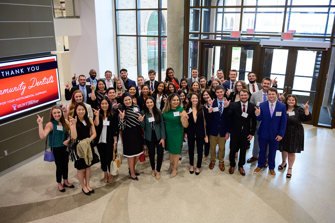 Hunt School of Dental Medicine Welcomes Its Inaugural Class and Announces $30,000 Gift from the Marathon Petroleum Foundation