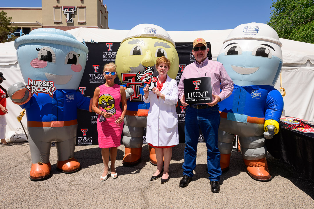 """TTUHSC El Paso Celebrates Successful """"Champions of Trusted Heroes"""" Campaign for Hunt School of Nursing Scholarships"""