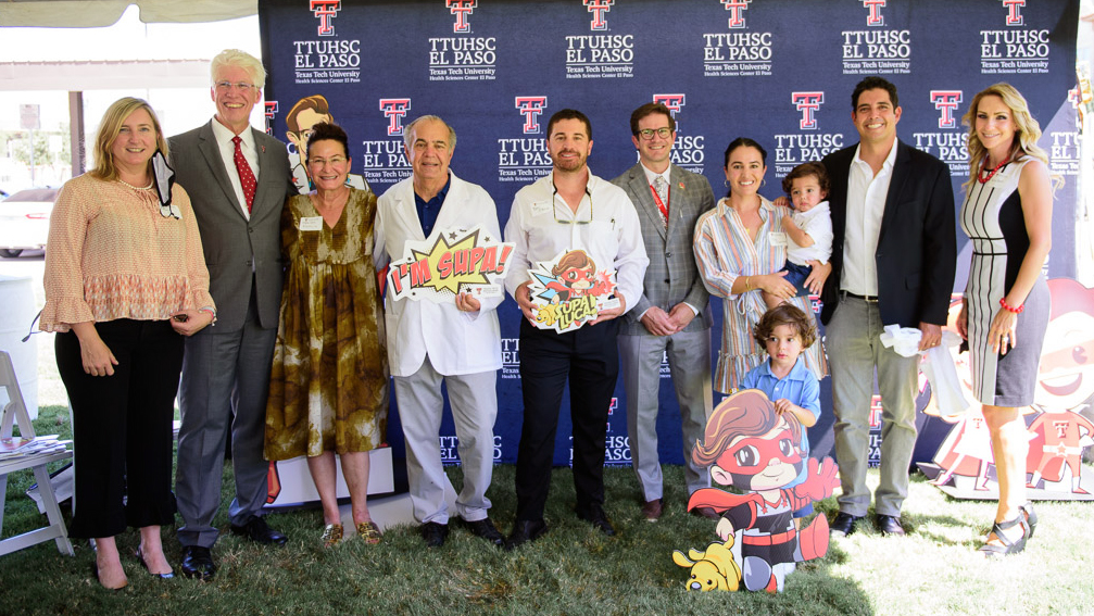 El Paso Family Receives World-Class Patient Care and Gifts Texas Tech Physicians of El Paso $50,000