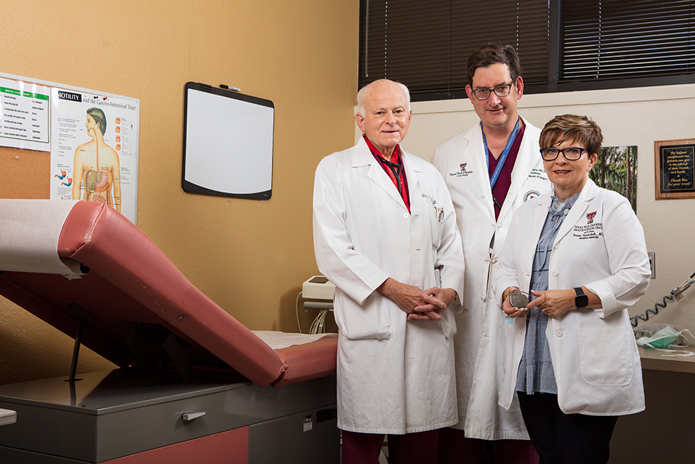 TTUHSC El Paso Faculty Roll Out Breakthrough Treatment for Stomach Paralysis Following 4-Year Clinical Trial