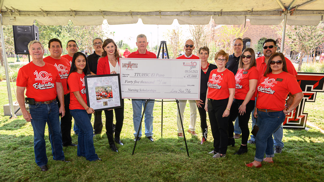 TTUHSC El Paso and Lone Star Title Host Welcome Back Barbecue to Kick Off the 10-Year Anniversary Celebration of the Hunt School of Nursing